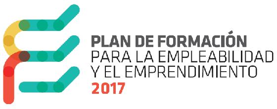 Logo del Plan de Formación para la Empleabilidad y el Emprendimiento 2017